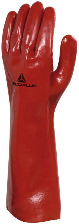 Rękawice chemiczne z PVC model PVCC400 - 40 cm