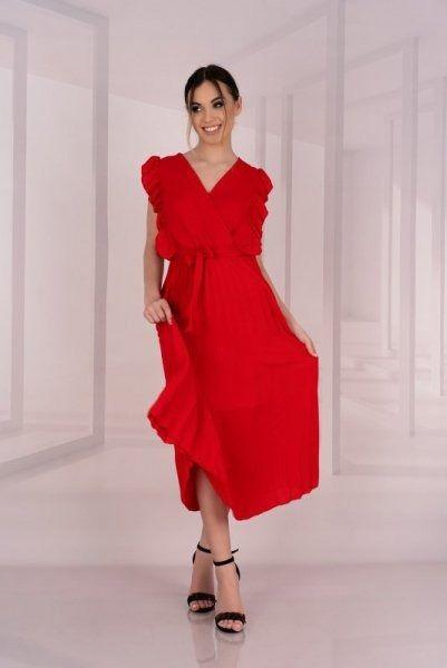 Sukienka damska merribel merlotina red