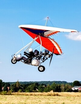 Lot motolotnią dla dwóch osób  Radom