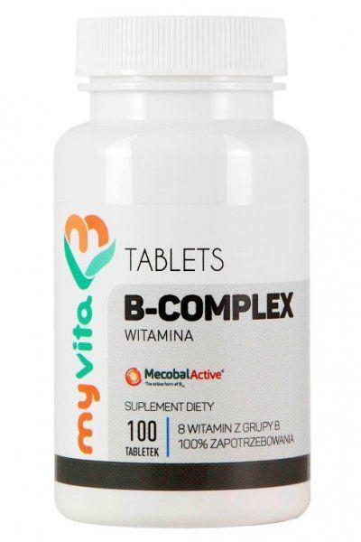 Witamina B-Complex Tabletki, MyVita