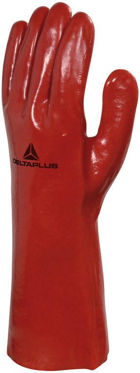 Rękawice chemiczne z PVC model PVCC350 - 35 cm