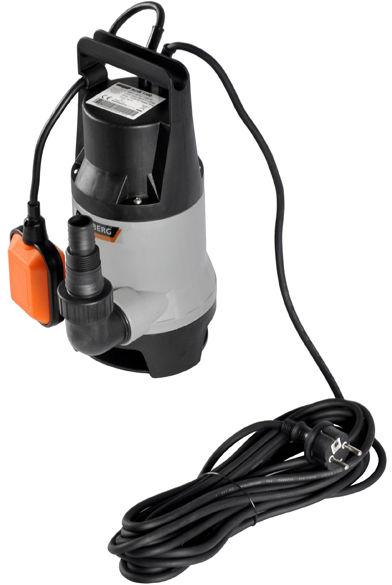 Pompa do wody brudnej 1100W 14 000l/h pływak