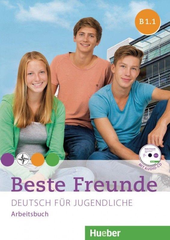 Beste Freunde. Deutsch für Jugendliche. Arbeitsbuch ZAKŁADKA DO KSIĄŻEK GRATIS DO KAŻDEGO ZAMÓWIENIA