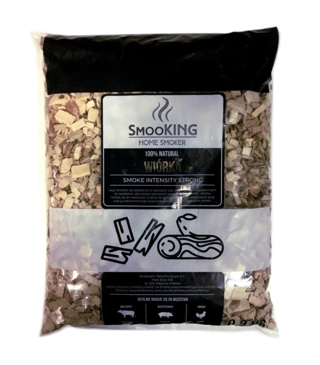 Wiórki do wędzenia SmooKing 0,9 kg klonowo-olchowe (SMK-01) --- OFICJALNY SKLEP SmooKing