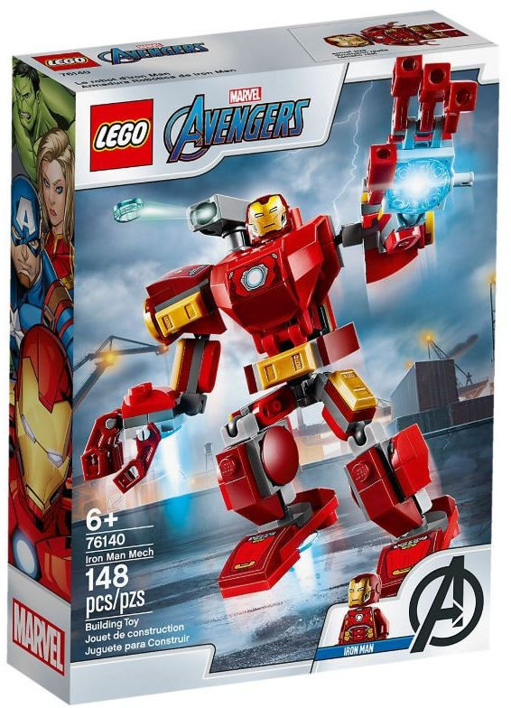 Klocki Super Heroes 76140 Mech Iron Mana