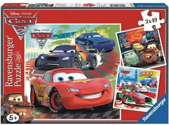 Ravensburger - Puzzle Auta 2 Cars 3 x 49 elem. 092819