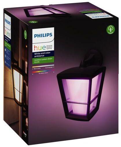 Philips Econic Hue Outdoor Wall Light Black 17440/30/P7 - Kup na Raty - RRSO 0%