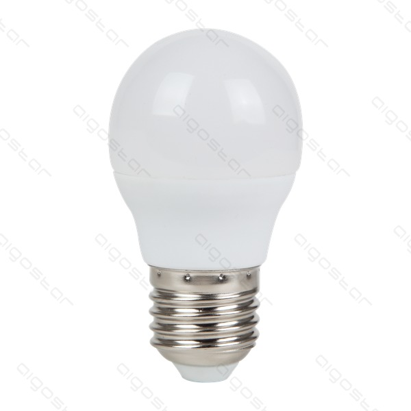 Żarówka LED E27 7W zimna 6400K kulka G45