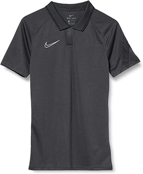 Koszulka polo Nike Nk Dry ACD20 - antracytowa/czarno-biała, M