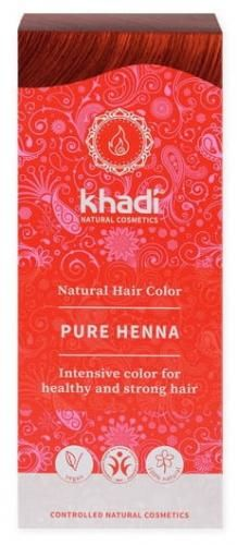 Henna naturalna CZERWONA (RUDA) Khadi