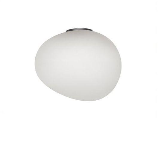 Gregg Piccola Ø13 biały, szary - Foscarini - lampa ścienna