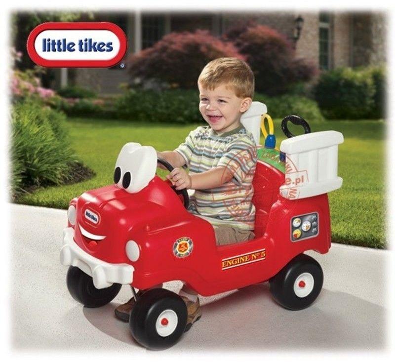 Little Tikes auto Jeździk Straż Pożarna z pompką Samochód