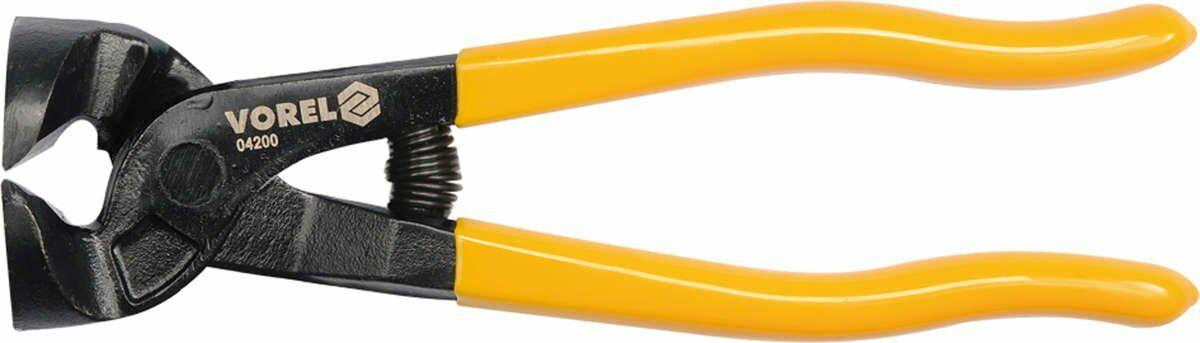 Obcęgi do cięcia glazury, proste 200 mm Vorel 04200 - ZYSKAJ RABAT 30 ZŁ