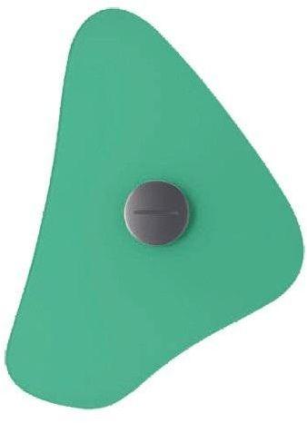 Bit 34x30 zielony - Foscarini - lampa ścienna