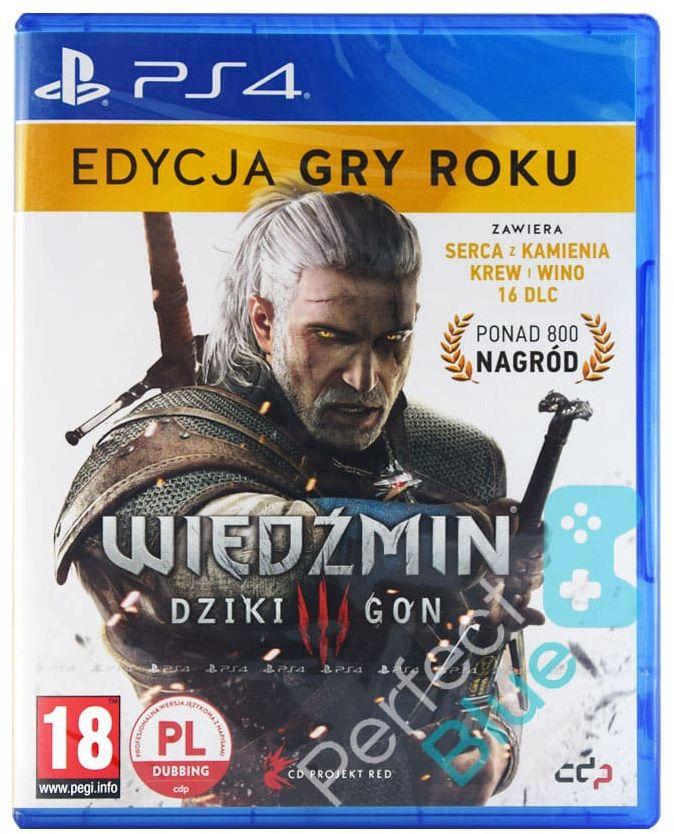 Wiedźmin III Dziki Gon GOTY / Edycja Gry Roku / PS4 / Sklep Warszawa CH Land