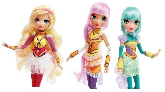 Regal Academy Lalka Glitter Girls, 3 rodzaje - Cobi