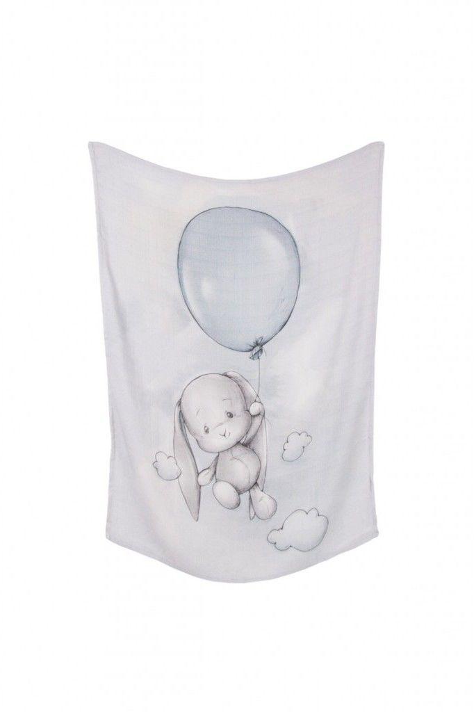 Effiki - Otulacz Bambusowy 70x100 Effik z Balone m