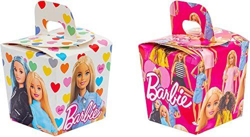 DECORA 0403022 Candy Box Barbie, papier
