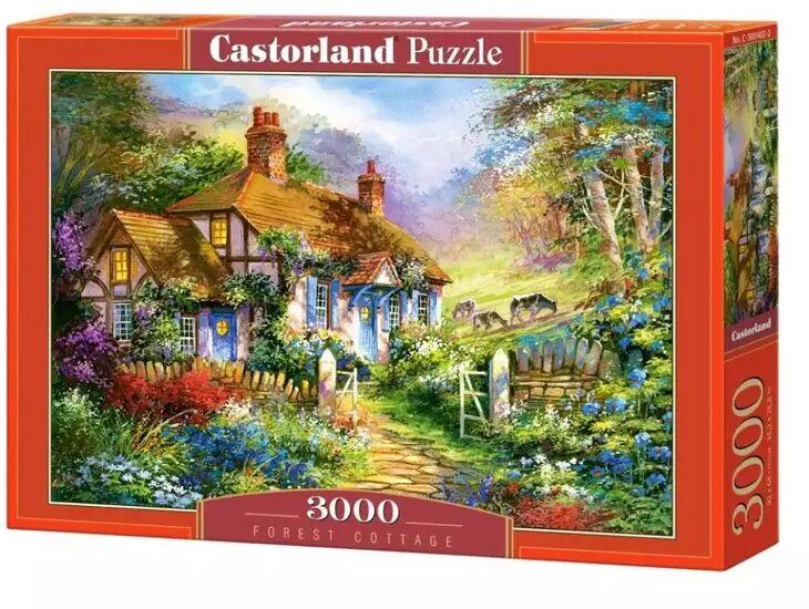 Puzzle 3000 Forest Cottage CASTOR - Castorland