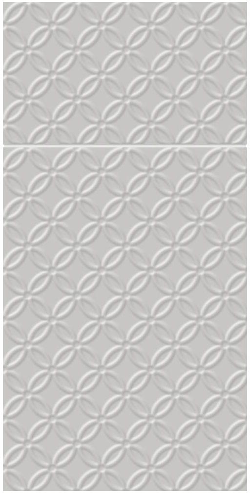 Serwetki z kieszonką Modern srebrne 40 x 40 cm 16 szt.