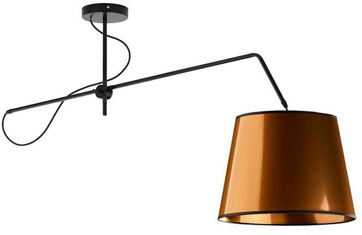 Miedziana lampa wisząca z ruchomym ramieniem - EX231-Oviedis