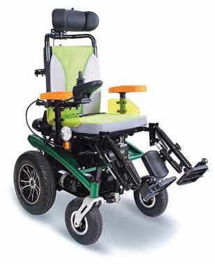 Elektryczny Wózek inwalidzki - SCRUBBY - Amortyzowany (PCBL 1220/1420)