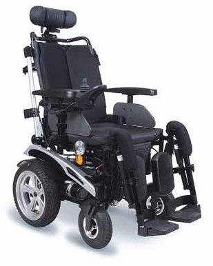 Elektryczny wózek inwalidzki Exclusive DE LUXE (PCBL 1610/1810)