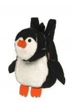 Plecak dla dzieci z filcu - Pingwin