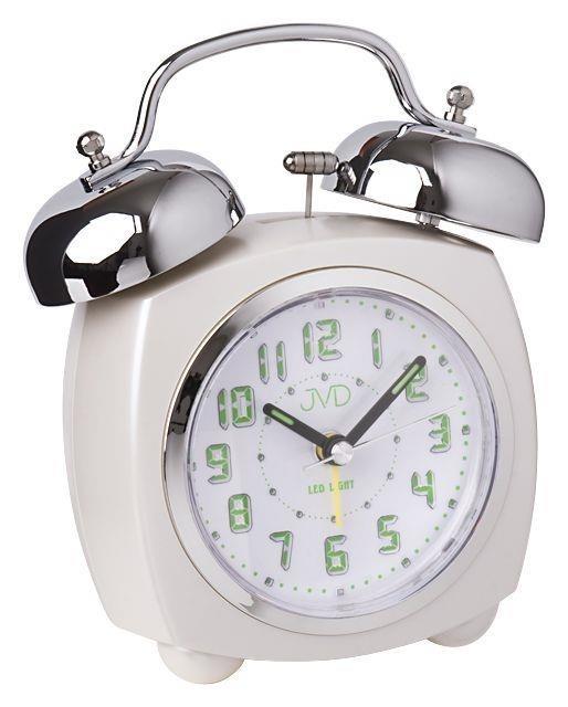 Budzik JVD SRP930.1 Led Light, Bell Alarm