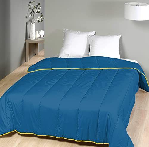 Laurentmortreux kołdra pikowana, 240 x 260 cm, ciepła, poliester, 240 x 260 cm, kolor niebieski