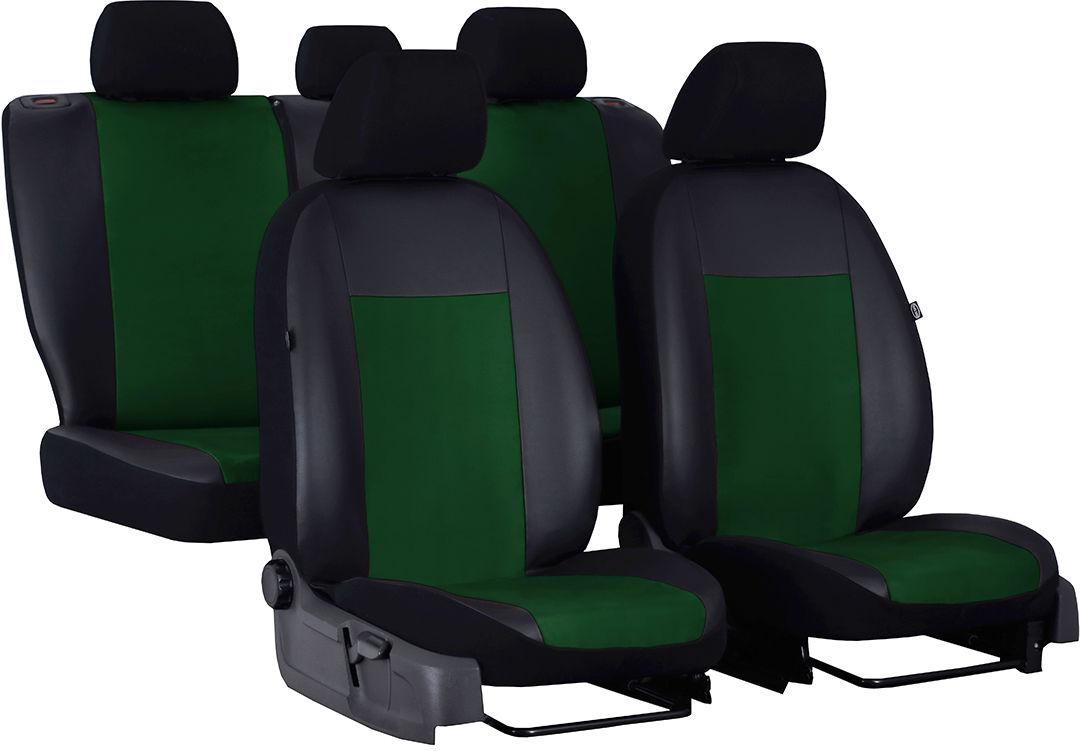 Pokrowce samochodowe Unico, kolor zielony