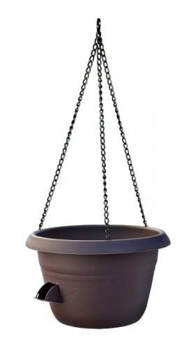 Doniczka samonawadniająca na łańcuchu Brązowy, 30 cm Uno Siesta