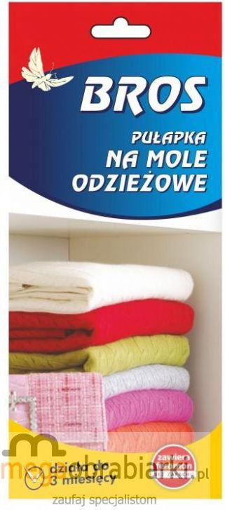 Bros Pułapka feromonowa na mole odzieżowe