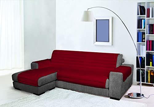 Trendy Wodoodporna i podwójna pokrywa na sofę, bordowy 240 cm, 100% mikrofibra
