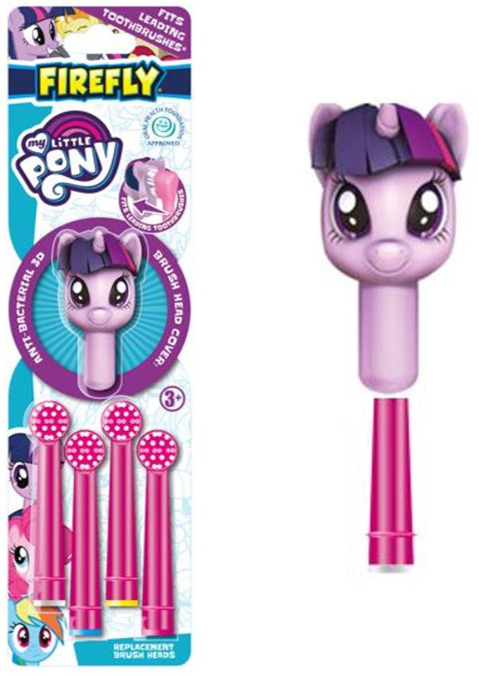 Końcówki do szczoteczki do zębów 6 + My Little Pony /4 szt