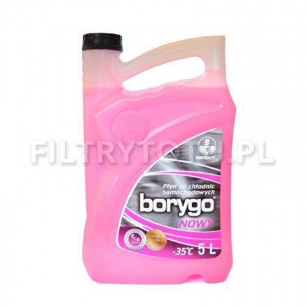 Borygo (różowy) płyn chłodniczy -35 C 5l
