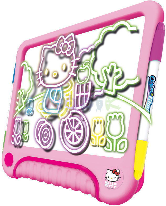Dumel Creative - Świecąca ramka do projektowania - Hello Kitty