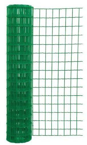 Siatka ogrodzeniowa zgrzewana 1 x 10 m zielona