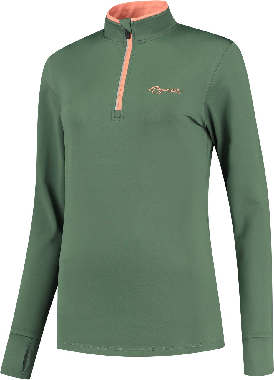 ROGELLI bluza do biegania damska SNAKE green ROG351110 Rozmiar: XL,ROG351110.XS
