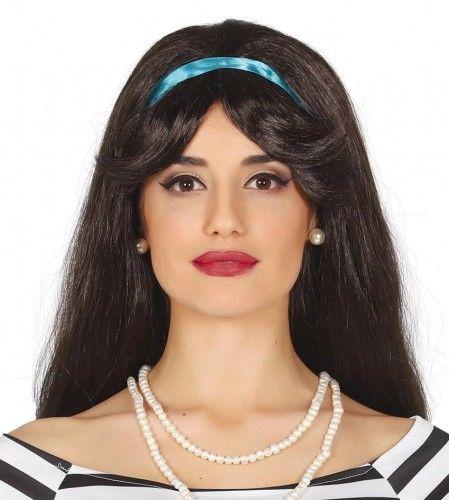 Peruka damska, stylizowana na lata 50, 60