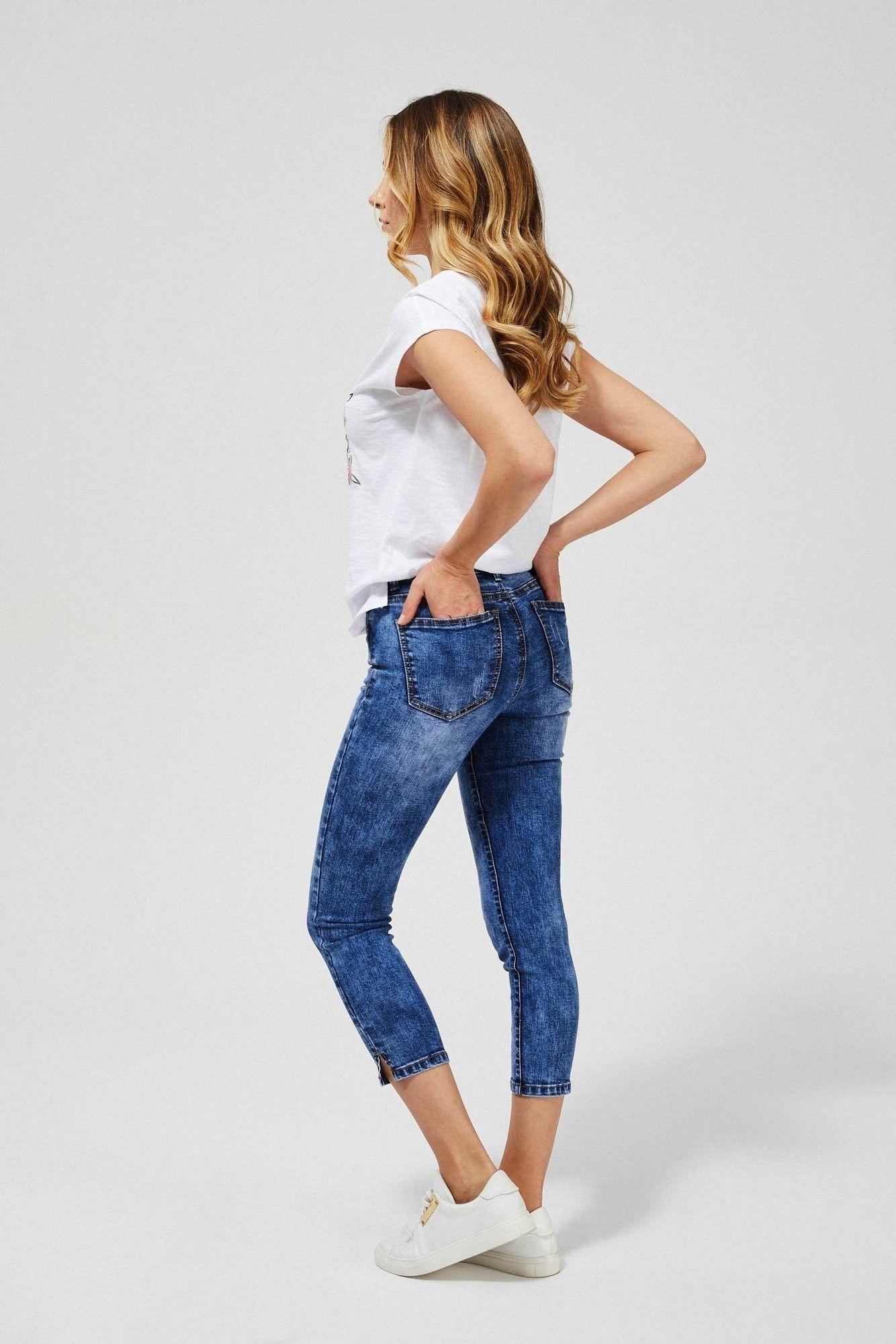 Jeansy skinny 7/8