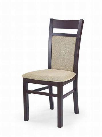 Krzesło GERARD 2 ciemny orzech drewniane  KUP TERAZ - OTRZYMAJ RABAT
