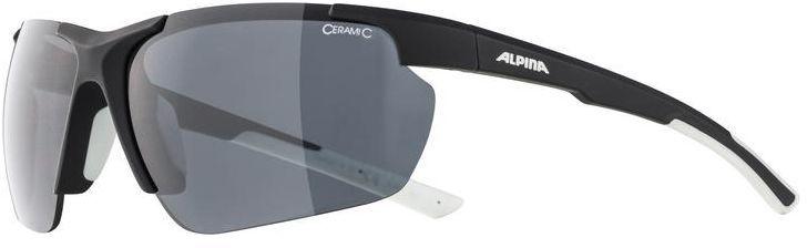 ALPINA okulary sportowe DEFFY HR BLACK S3 black matt-white A8657431,4003692301307