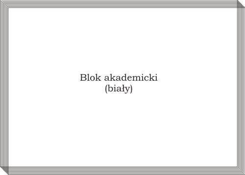 Blok biurowy A4 80K biały - X04564