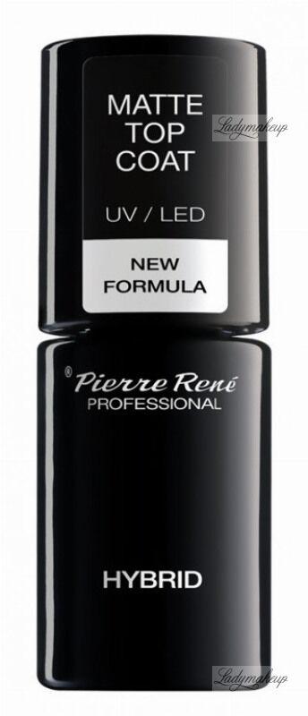 Pierre René - MATTE TOP COAT UV/LED - Matowy top do lakierów hybrydowych