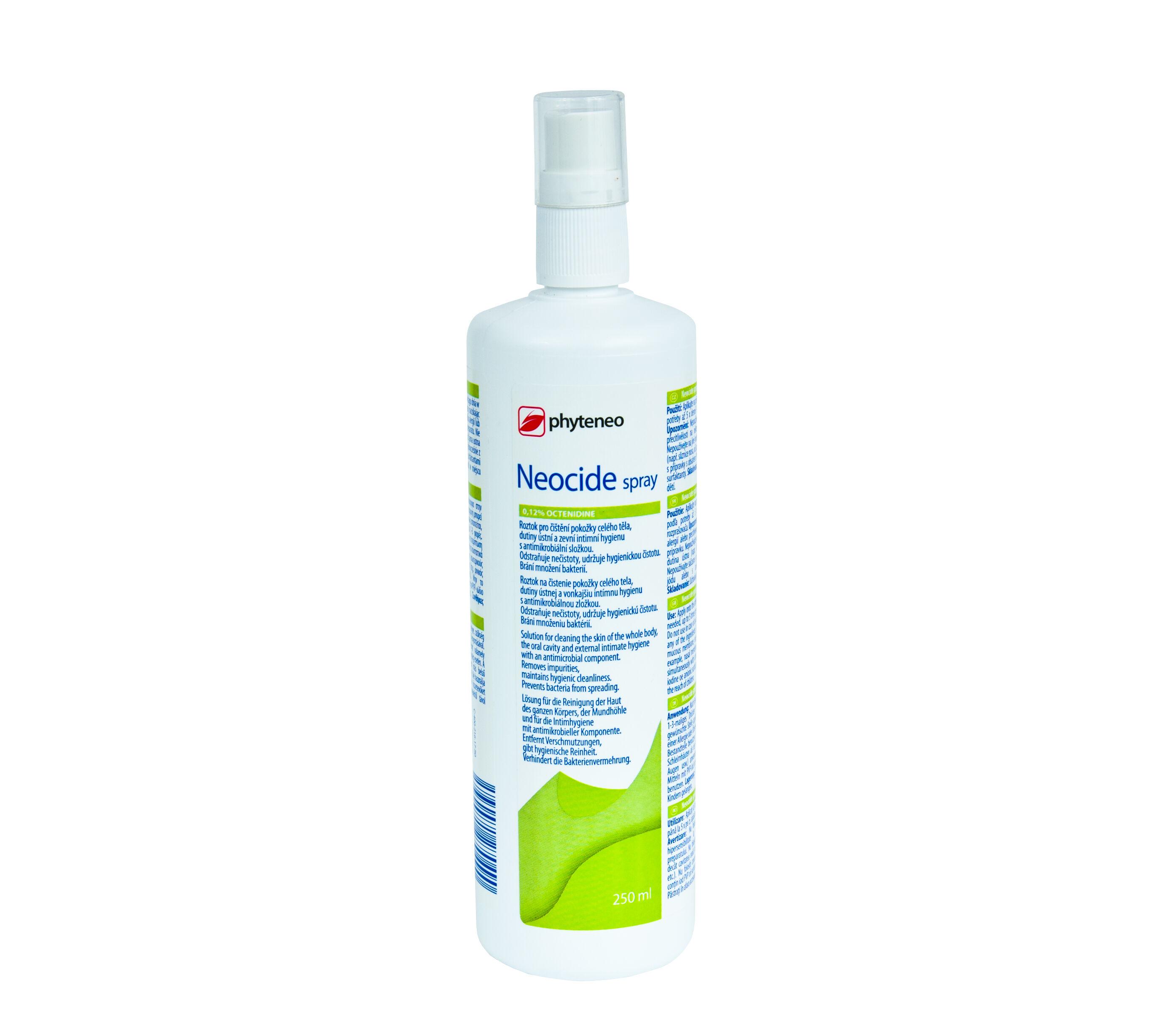 Preparat antybakteryjny do skóry i błon śluzowych NEOCIDE SPRAY