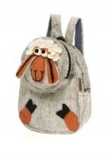 Plecak filcowy handmade Owieczka