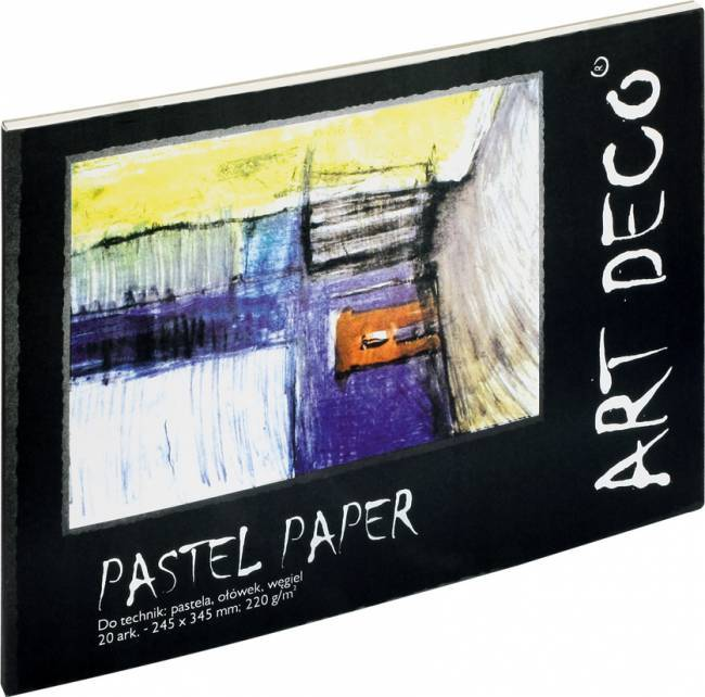 Blok malarski A4+ ART DECO pastela - X00468