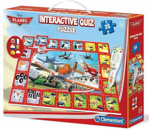 Clementoni Quiz Interaktywny Planes 13835