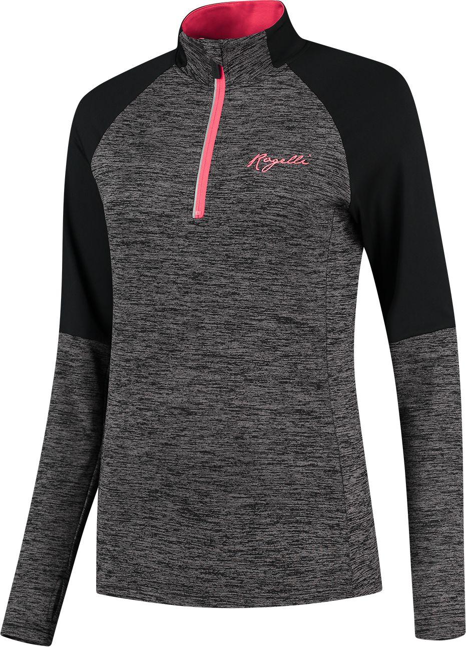 ROGELLI bluza do biegania damska ENJOY grey ROG351109 Rozmiar: L,ROG351109.XS